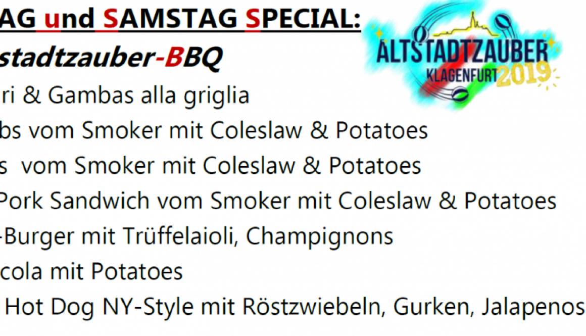 Altstadtzauber 2019 Specials TAM 1